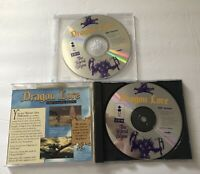 Dragon Lore The Legend Begins Panasonic 3DO DISCS 1 & 2 ONLY 1994 TESTED