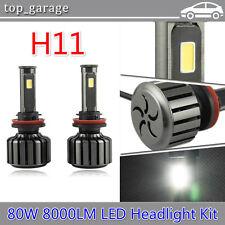Cree 80W 8000LM H11 H8 H9 LED Headlight Upgrade Kit 6000K Beam Bulbs High Power