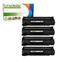 4 Pack CF283A 83A Toner Cartridge for HP LaserJet Pro MFP M127fw M127fn
