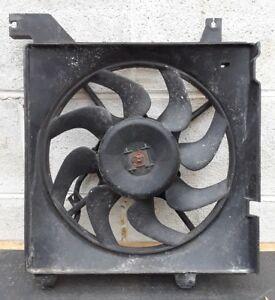 01-06 Hyundai Elantra Radiator Condenser Electric Cooling Fan Driver Left- OEM