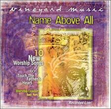 Name Above All Touching the Father's Heart #39 Andy Park CD 1999 Vineyard Music