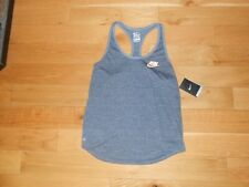 "NWT NIKE ""DRI-FIT"" GRAY ATHLETIC CUT TANK TOP SIZE LARGE"