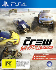 The Crew Wild Run Edition PS4 Games Sony Playstation 4  New Sealed