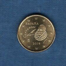Espagne - 2014 - 10 centimes d'euro - Pièce neuve de rouleau -