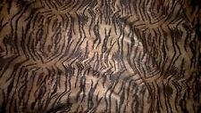 tissu  jean biface noir ou imprime peau extensible 100x150 cm