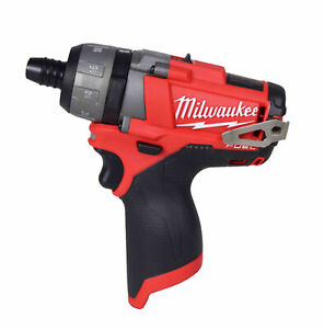 Milwaukee 2402-20 M12 FUEL 12V Li-Ion Brushless 1/4 in. Hex 2-Speed Screwdriver
