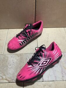 Umbro Pink Girls Kids Youth Soccer Cleats Size 4 US style UMBYP17