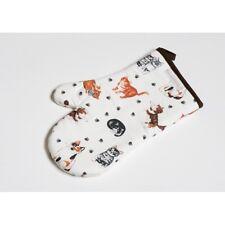 Roy Kirkham Cat Lovers Padded Cotton Oven Glove Mitt Funky Kitchen Gift UK MADE