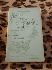 ARDOUIN-DUMAZET: Voyage en France 16e série, de Vendée en Beauce,Berger-Levrault