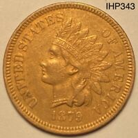 1879 Indian Head Penny Cent