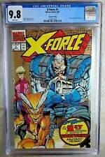 X-Force #1 2nd Printing Marvel 1991 CGC 9.8 NM/MT White Pages Comic R0064