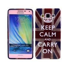 TPU Case f. Samsung Galaxy A5 (2015) Schutzhülle Tasche Cover keep calm carry on