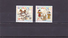 ROMANIA 2015,Old Toys,CEPT,Europe,set,MNH,horse,bycycle,dolls