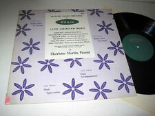 CHARLOTTE MARTIN Latin American Music EDUCO MCS-5009 NM/NM- Villa-Lobos