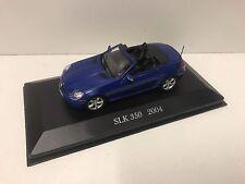 2004 Mercedes-Benz SLK 350 (R 171) Blue 1:43 Brand New & Sealed FAST & FREE P&P