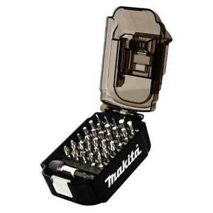 Makita Bit-Set in Akku-Box 31-teilig E-00016 Bits Bithalter Sechskant