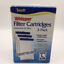Tetra Whisper 3 pack aquarium filter cartridges large 26219-918