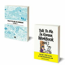 TALK TO ME IN KOREAN Textbook, Workbook Level 1 set - Beginner