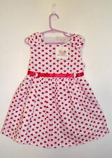 Sz 2 XIRUBABY Sweetheart DRESS Sleeveless Lined Ribbon Waisted Back Feature BNWT