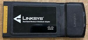 LINKSYS Dual Band Wireless-N Notebook Adapter Model No. WPC600N