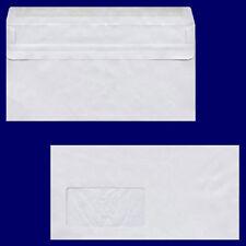 100x Briefumschlag DL-C5/6 220x110mm 75gr NK MF grau - recycling