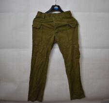 1980 Pantaloni dell'esercito Israeliano IDF Vintage Militare 76 cm Girovita uniforme LIBANO UK