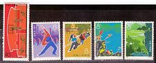 1972 China stamps, 10th Anniv of Mao Edict, full set MNH SG 2480-4