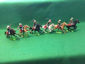 US 7th Cavalry -1/32 Scale- Plastic Figures - Britains