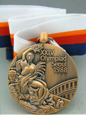 1988 Seoul Olympic Bronze Medal with Ribbons & Display Stands *Free Shipping*