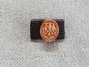 A51-10 Bundeswehr Leistungsabzeichen Bronze Zivilpin Zivil Pin 16mm