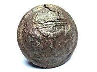 Dug Civil War Confederate state of Georgia military uniform button - conserved