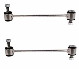 Pair Set of 2 Rear Stabilizer Bar Links Delphi For W220 W164 NO Active Susp