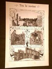 WW1 Prima Guerra Mondiale 1914-1918 Bombe su Revigny, Senlis, Vilvorde e Creil