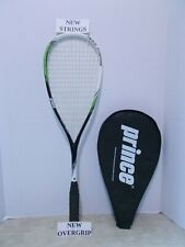Prince Team Aspire Squash Racquet - NEW STRINGS / OVERGRIP