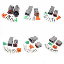 Deutsch DT Series 2 3 4 6 8 12 Pines Macho Hembra Conector De Coche Kit Impermeable Enchufe