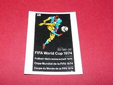 AFFICHE MÜNCHEN 74 RECUPERATION PANINI FOOTBALL MEXICO 86 WM 1986