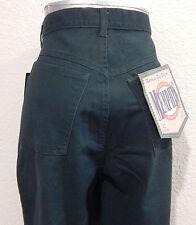 Green VTG Denim Jeans 90s Juniors Size 11 (28 x 29) High Waisted Memphis