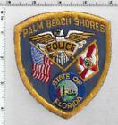 Palm Beach Shores Policet (Florida) 1st Issue Uniform Take-Off Shoulder Patch