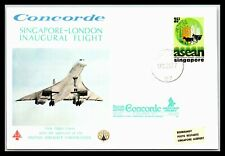 GP GOLDPATH: SINGAPORE COVER 1977 FIRST FLIGHT COVER _CV257_P31