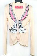 Beige Rabbit Knit Cardigan