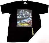 STREETWISE NIGHTLIFE T-shirt Urban Streetwear Tee Men L-4XL Black NWT