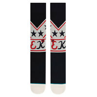 STANCE Men's super kool  Crew Socks SUIT UP - NVY - Large(9-12) - NWT