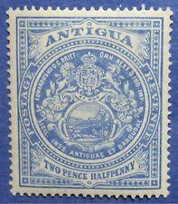 1908 ANTIGUA 2 1/2d SCOTT# 34a S.G.# 46a UNUSED                          CS04383