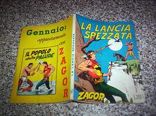 ZAGOR ZENITH N.57 ORIGINALE DEL 1965 OTTIMO TIPO TEX MARK ARALDO DOG RANGER