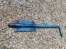 Grand verrou bas en fer 40,7cm,loquet targette serrure porte garage grange
