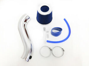BLUE For 2005-2010 Chrysler 300 3.5 V6 Touring Limited Air Intake Kit + Filter