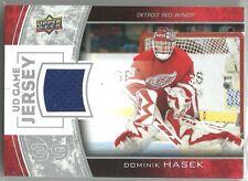 2013-14 Upper Deck Game Jerseys DOMINIK HASEK DETROIT RED WINGS JERSEY