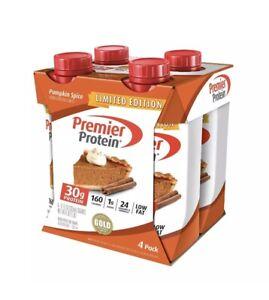 Premier Protein 30g Protein Shake, Pumpkin Spice, 11 Fl Oz, Pack of 4
