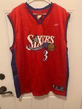 Reebok Allen Iverson Sixers Jersey XL NBA