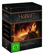 der Hobbit Trilogie Extended Edition Blu Ray